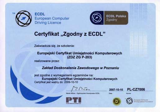 Europejski Certyfikat Umiejętności Komputerowych
