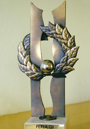 Poznański ZDZ, jako trzykrotny Laureat Programu Najwyższa Jakość Quality International, jest także laureatem nagrody specjalnej – Perły QI